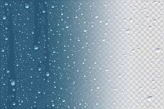 Raindrops Or Vapor