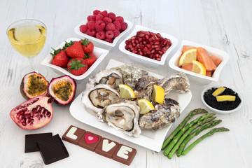 Aphrosdisiac Food Selection
