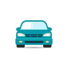 Car isolated vector illustration.