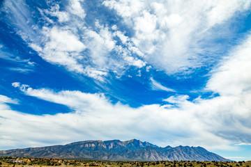 Palomas Peak Sandia Mountains