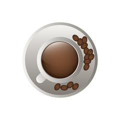Delicious coffee cup icon vector illustration graphic design icon vector illustration graphic design