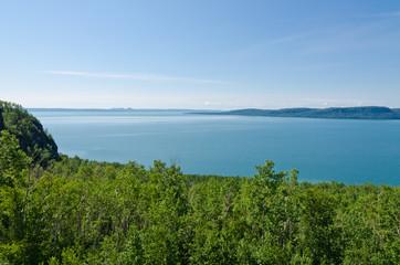 Shore of Superior Lake