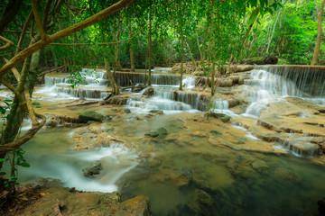 Huay Mae Kamin waterfall National Park