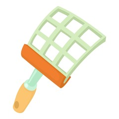 Swatter icon, cartoon style