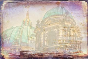 Berlin art texture illustration