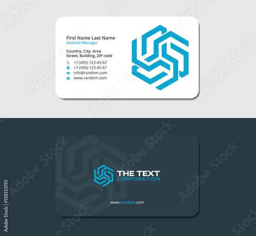 Futuristic business card design template stationery and corporate futuristic business card design template stationery and corporate identity colourmoves