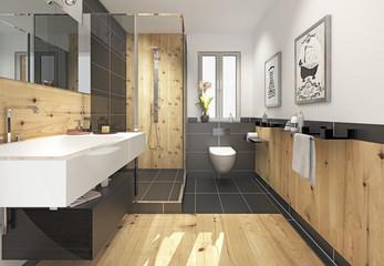 Bad Minibad Duschbad Badezimmer
