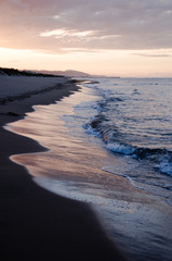 Am Strand von Oliva