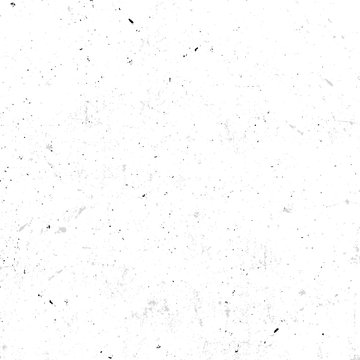 Isolated abstract speckled white seamless texture with dirty effect vector illustration, old wallpaper background.