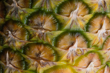 ananas close up
