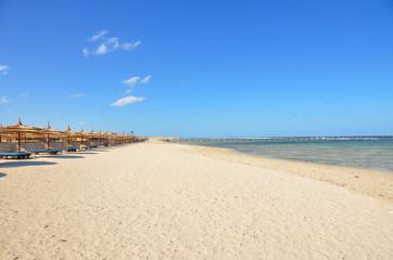 Beach in Marsa Alam, Egypt