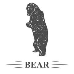 медведь обиделся, винтаж
