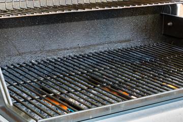 bbq grill heating upp gas