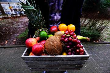 Lieferung von frischem Obst im Abo