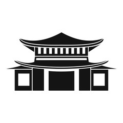 Chinese icon, simple style
