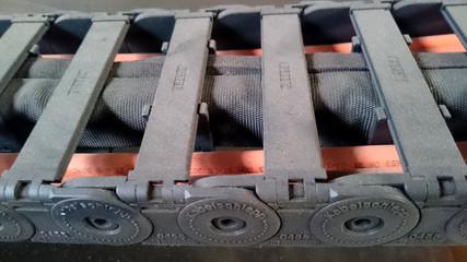 Maschinenkette einer Biegemaschine