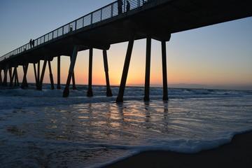 California Fishing Pier Sunset