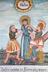 Bildtafel zur Leidensgeschichte von Jesus Christus