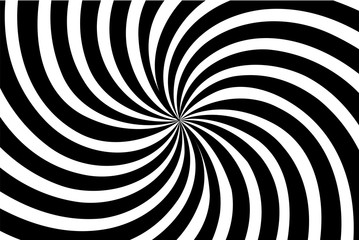 Striped black and white abstract background