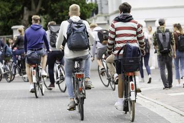 Schüler auf dem Heimweg