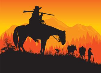 Wild West - Mountain Man