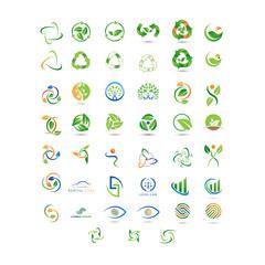 set logo icon green