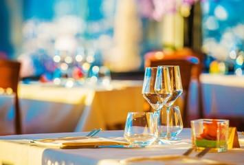 Elegant Restaurant Table