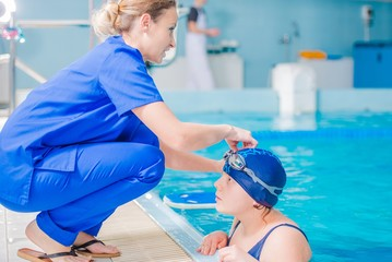 Rehabilitation in Swimming Pool