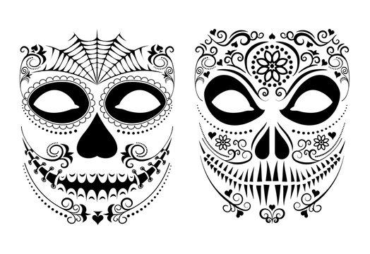 halloween mask set