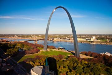 Gateway Arch in St Louis, Missouri  Wall mural