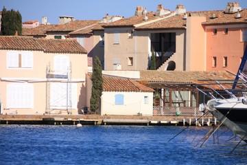 habitations de Port-Grimaud