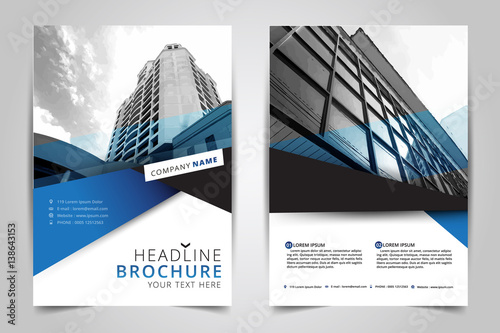 quotcover design annual reportvector template brochures