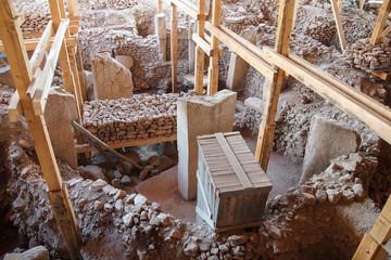 archaeological site of Gobekli Tepe
