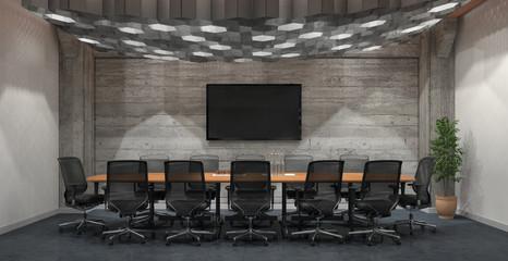 Meetingraum in einem Bürogebäude - Bürofläche - Immobilie