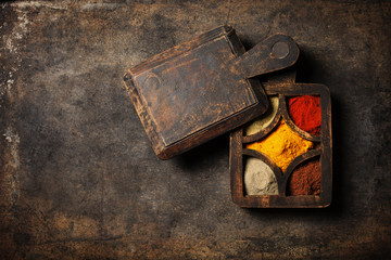 Fototapete - Spices