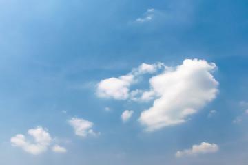 beauty blue sky background