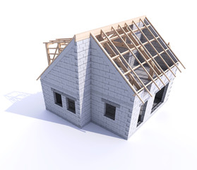 Roofing, home construction