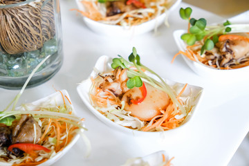 Ika Teriyaki, roasted squid with teriyaki sauce