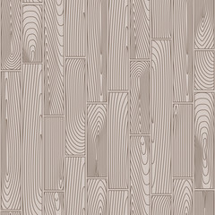 Seamless linear wooden planks pattern