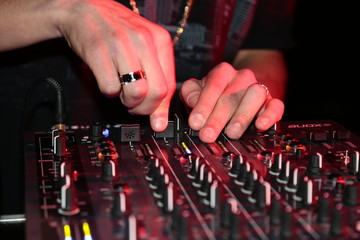 Dj DOWN  MIUSIC  mixes the track nightc Club at party
