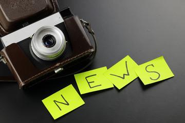 News camera journalism