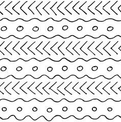 abstrakte handgezeichnet nahtlose Muster