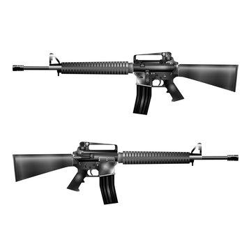 automatic rifle M-16