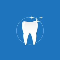 Stomatology and dental procedures illustration set