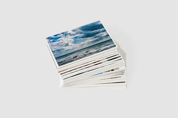Set photo cards.