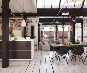 Industrial Loft Apartment - Industrie Loft Wohnung