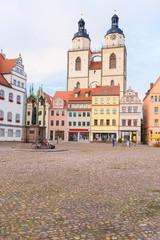 St. Marien und Rathausplatz