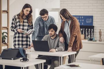 University Students at Classroom
