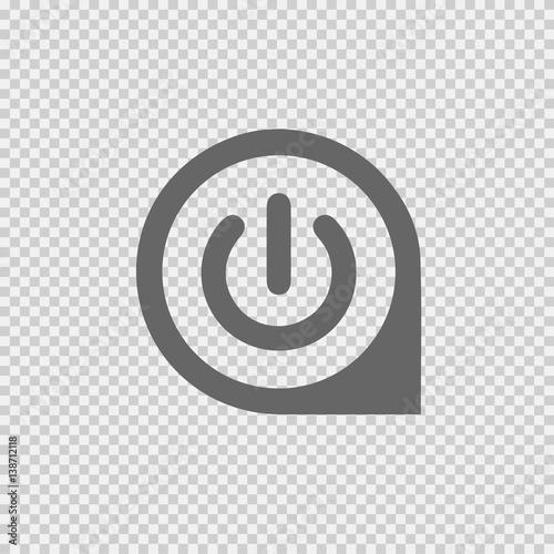 Power button vector  Start vector icon  Vector EPS 10 on