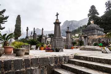 Cementry, Soller (majorca)